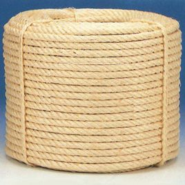 Cuerda Sisal Natural Rollo 100M