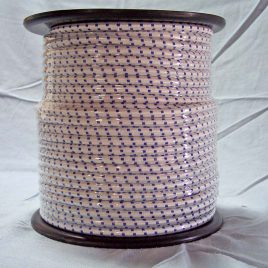 Elástica Poliamida Blanco/Azul 100M